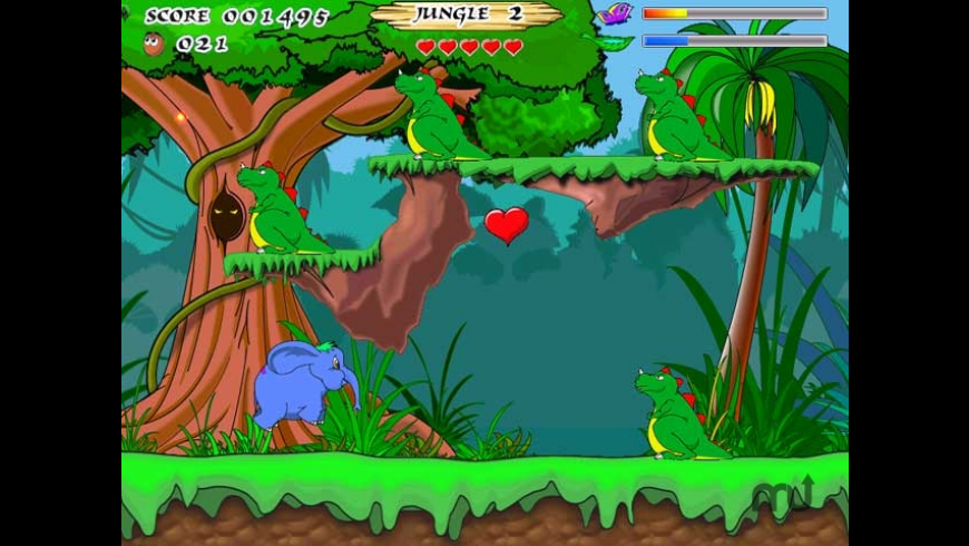 Jungle Heart for Mac - review, screenshots
