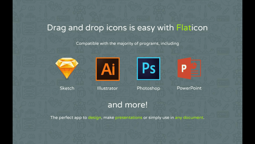 Flaticon for Mac - review, screenshots