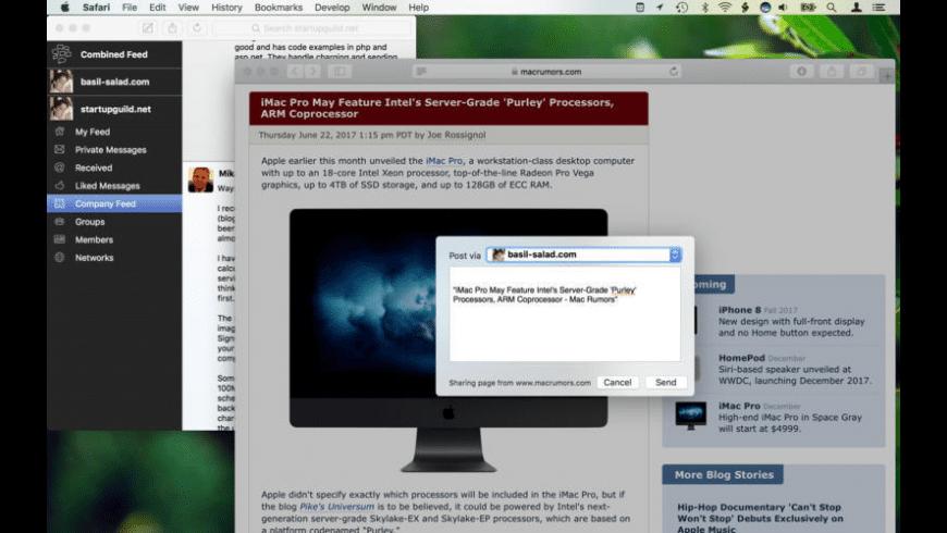 Scuttlebutt for Mac - review, screenshots