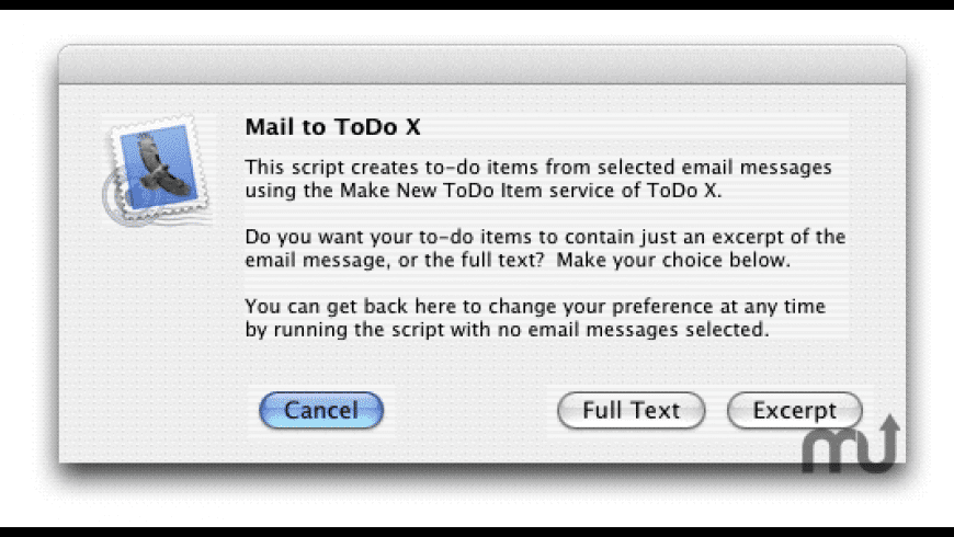 Mail to ToDo X for Mac - review, screenshots