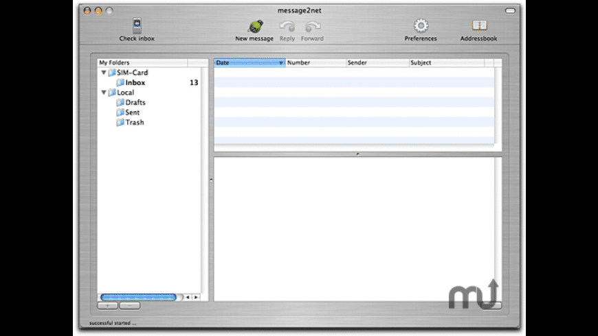 message2net phone for Mac - review, screenshots