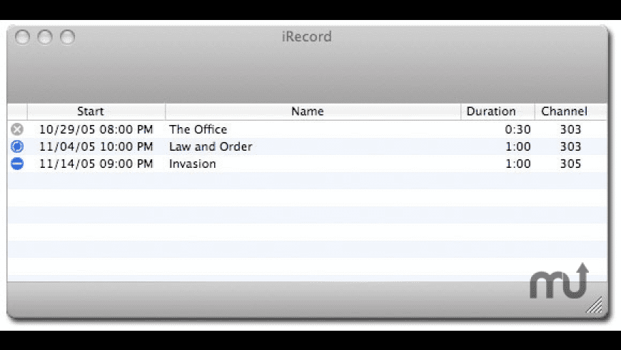 iRecord for Mac - review, screenshots