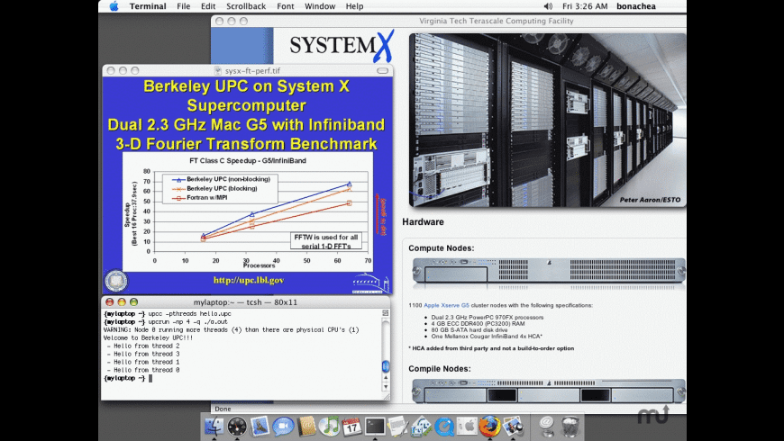 Berkeley UPC for Mac - review, screenshots