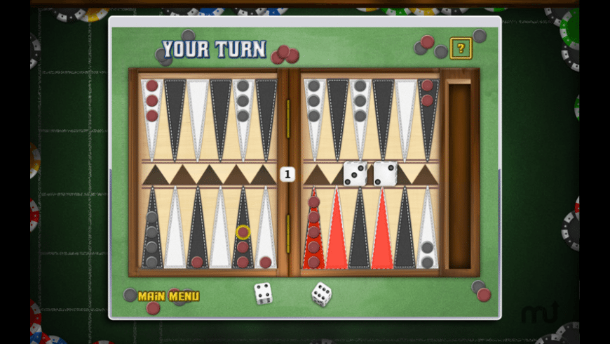 Backgammon Deluxe Free! for Mac - review, screenshots
