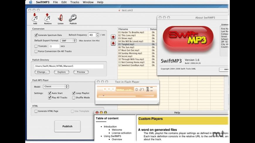 SwiftMP3 for Mac - review, screenshots