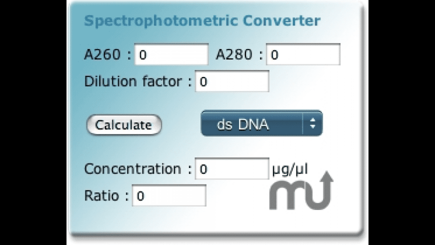 SpectroConverter Widget for Mac - review, screenshots