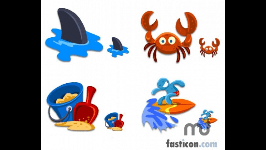 Beach Icons for Mac - review, screenshots