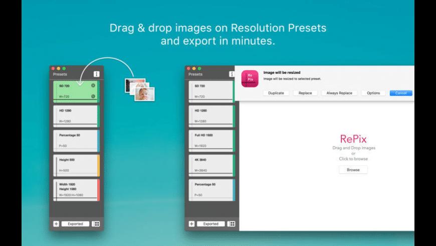 RePix for Mac - review, screenshots