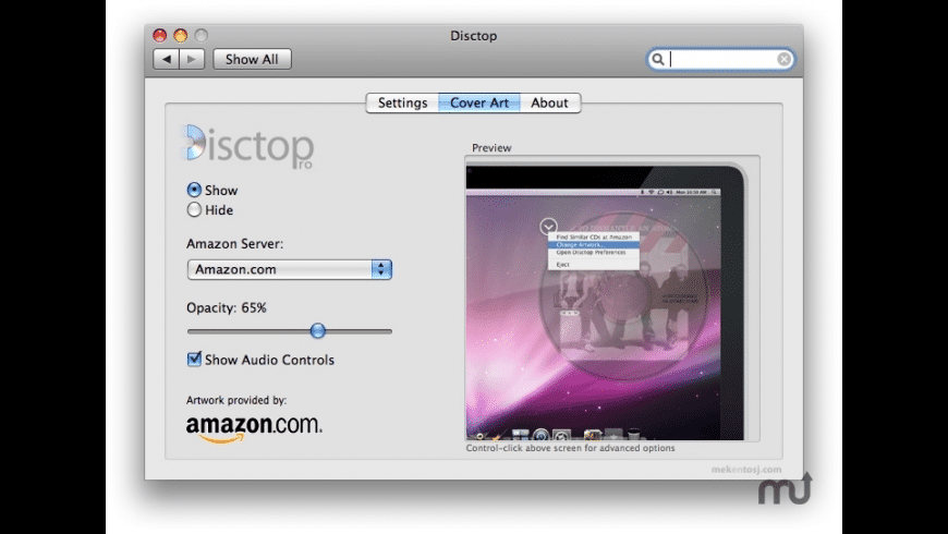 Disctop Pro for Mac - review, screenshots