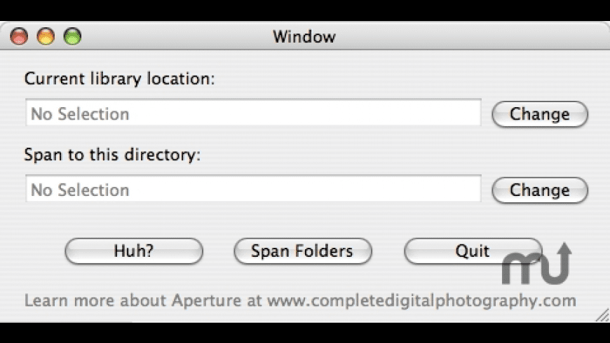 Aperture Library Spanner for Mac - review, screenshots
