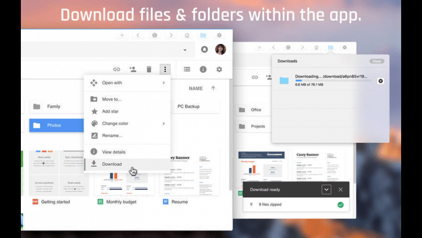 ProDrive for Google and OneDrive for Mac - review, screenshots