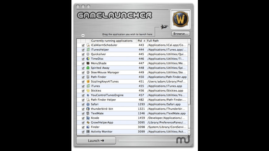 GameLauncher for Mac - review, screenshots