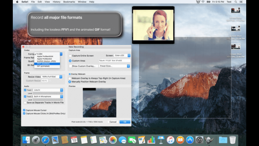 Viking Recorder for Mac - review, screenshots
