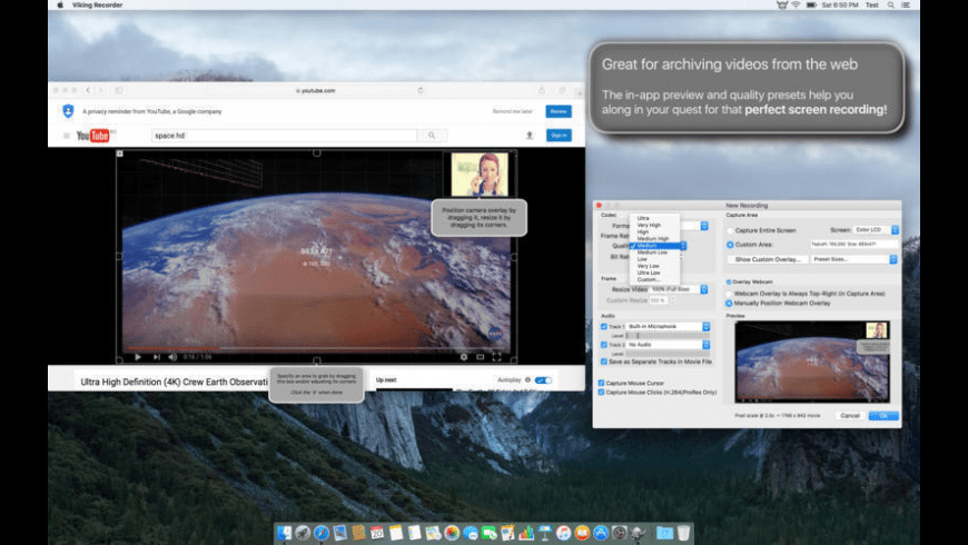 Viking Recorder for Mac - review, screenshots