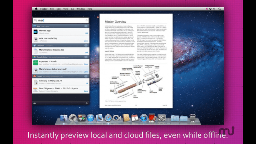 Found for Mac - review, screenshots