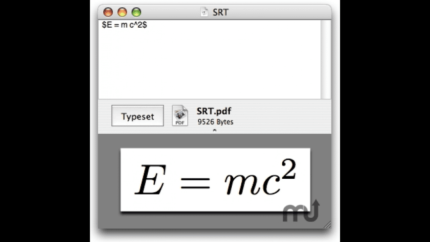 PDF Equation for Mac - review, screenshots