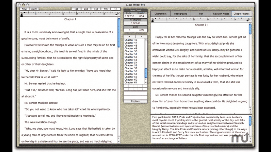 Glass Writer Pro for Mac - review, screenshots