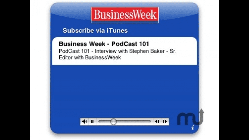 BusinessWeek Desktop Headlines for Mac - review, screenshots
