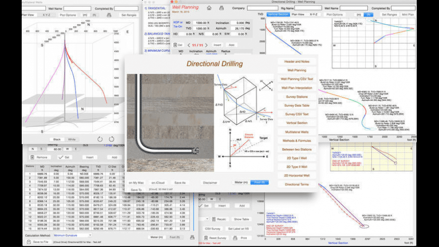 Directional Drilling for Mac - review, screenshots