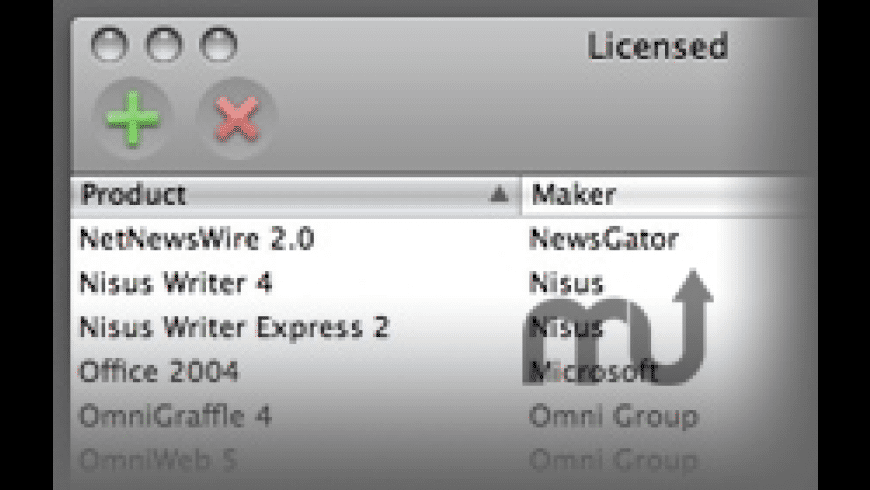 Licensed for Mac - review, screenshots