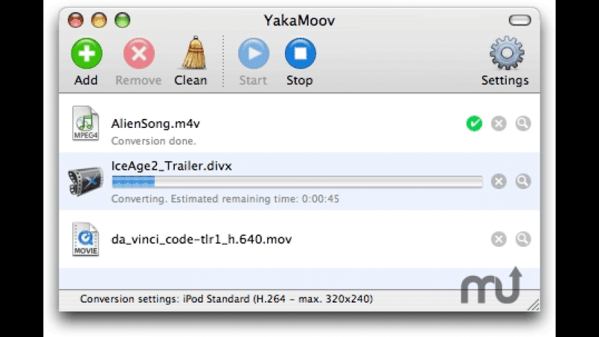 YakaMoov for Mac - review, screenshots