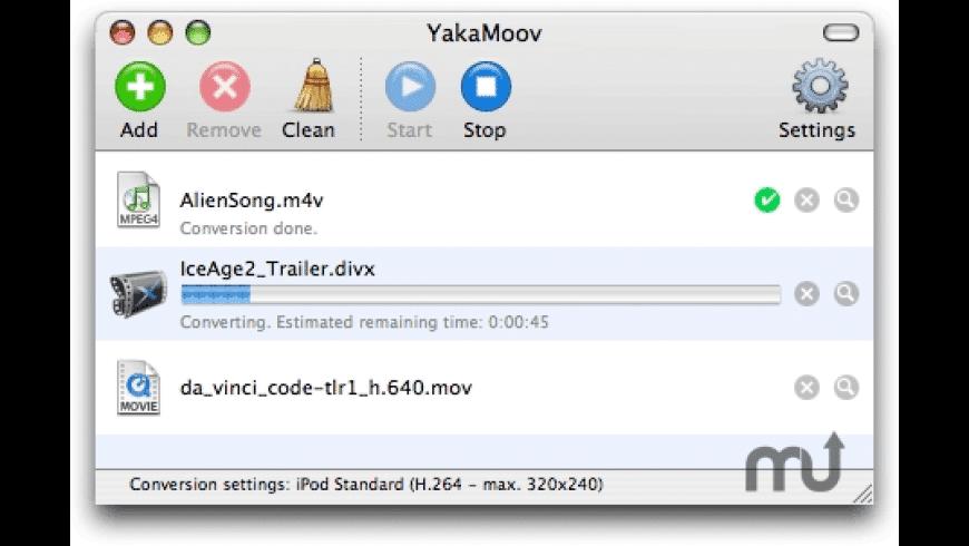 YakaMoov for Mac - review, screenshots
