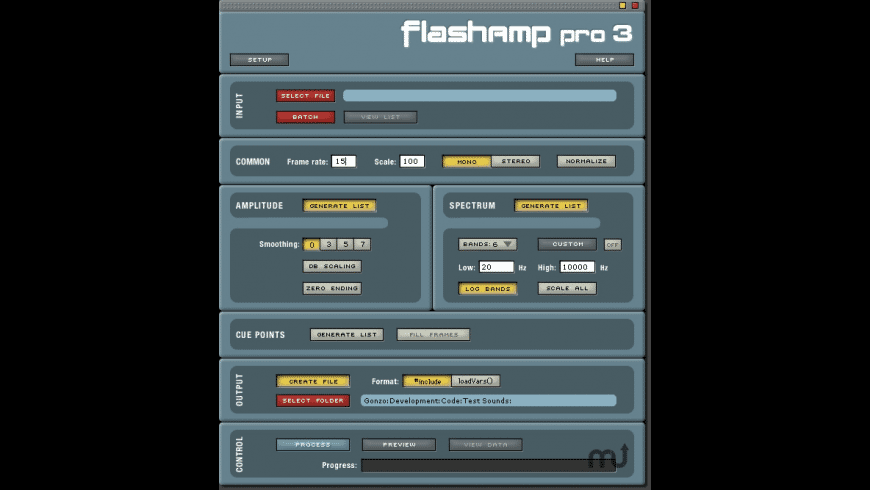 FlashAmp Pro for Mac - review, screenshots