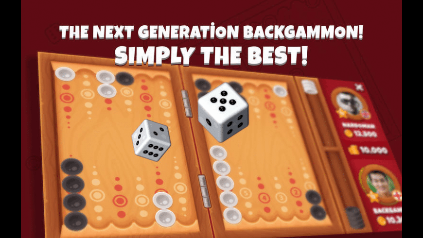 Next Backgammon for Mac - review, screenshots