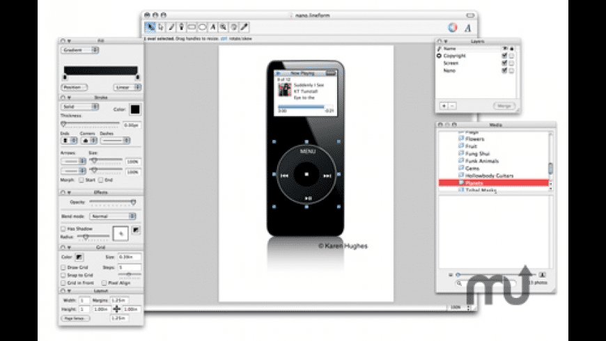 Lineform for Mac - review, screenshots