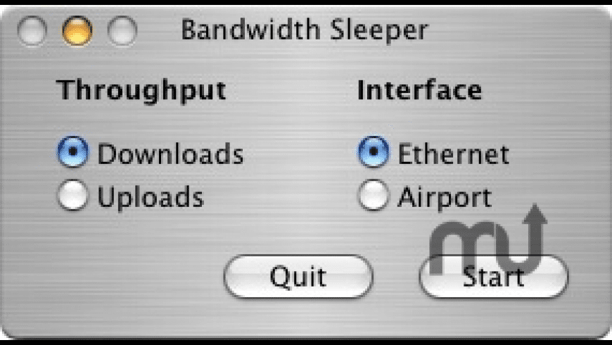 Bandwidth Sleeper for Mac - review, screenshots