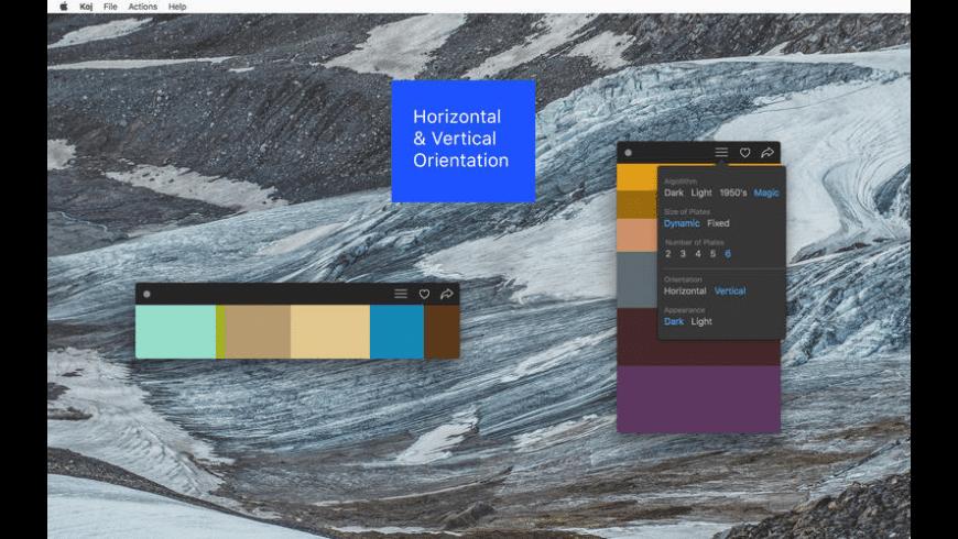Koj for Mac - review, screenshots