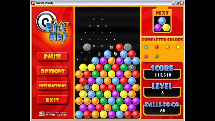 Super PileUp! for Mac - review, screenshots