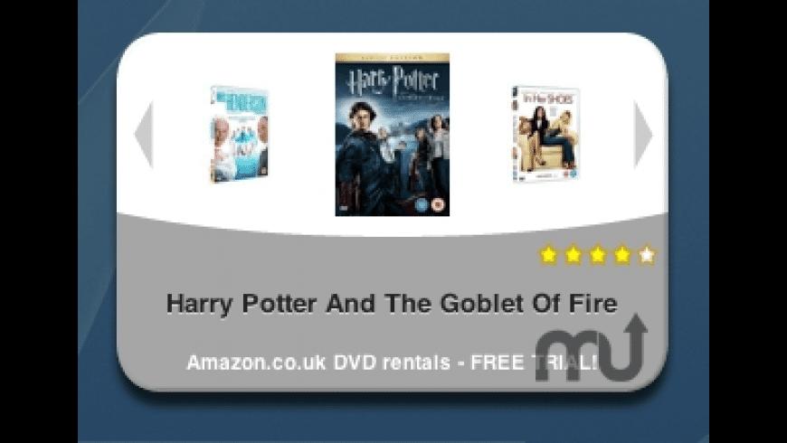UK DVD Rentals Widget for Mac - review, screenshots
