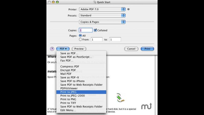 Spool Pilot for Mac - review, screenshots