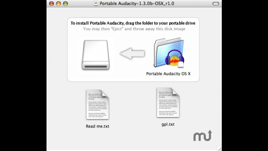 Portable Audacity for Mac - review, screenshots