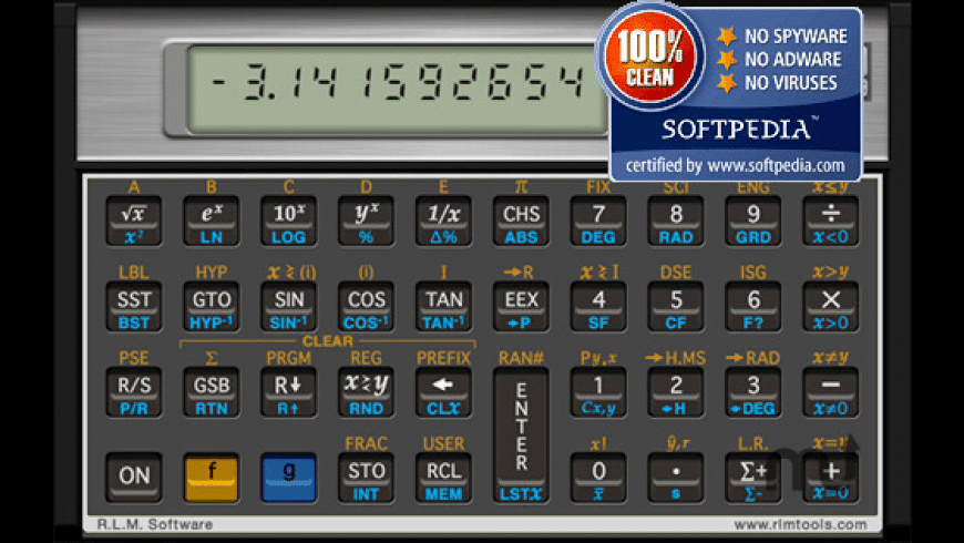 HP 11c Calculator for Mac - review, screenshots