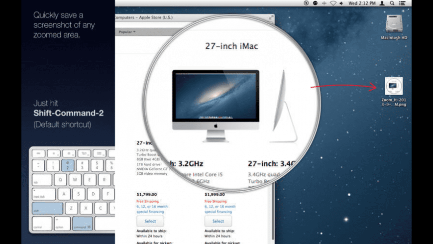 Zoom It for Mac - review, screenshots