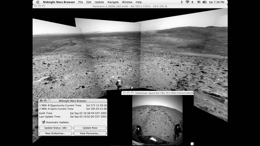 Midnight Mars Browser for Mac - review, screenshots