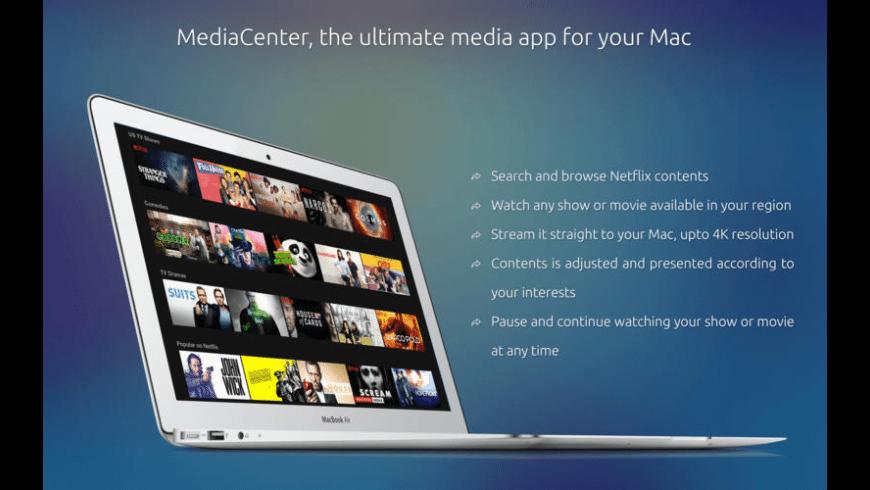 MediaCenter for Mac - review, screenshots