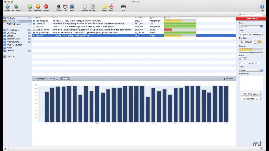 Task List for Mac - review, screenshots
