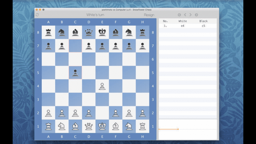 Snowflower Chess for Mac - review, screenshots