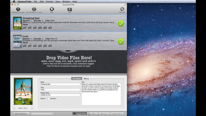 SqueezeTube for Mac - review, screenshots