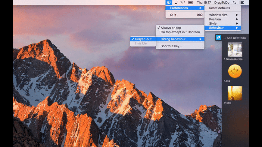 DragToDo for Mac - review, screenshots
