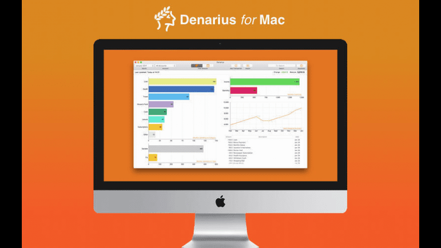 Denarius for Mac - review, screenshots