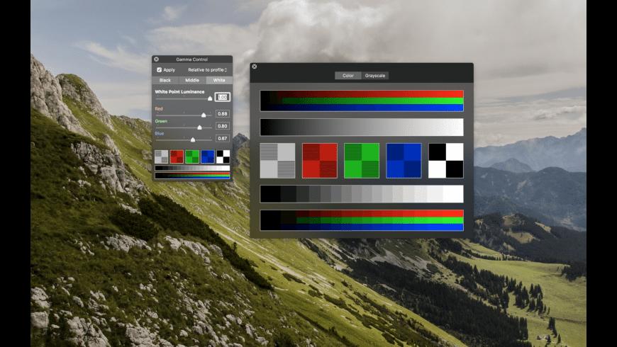 Gamma Control for Mac - review, screenshots
