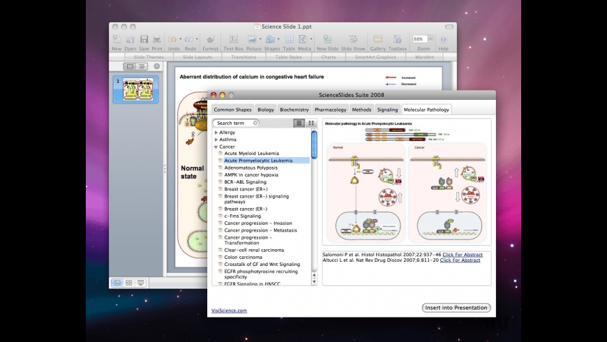 ScienceSlides for Mac - review, screenshots