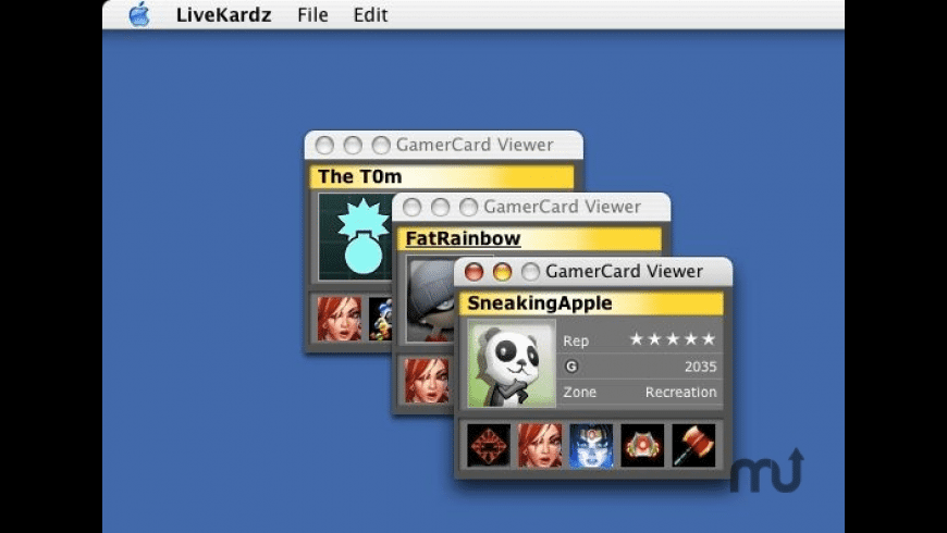 LiveKardz for Mac - review, screenshots