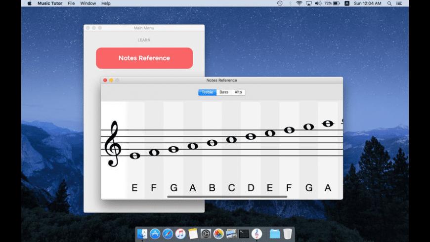 Music Tutor for Mac - review, screenshots