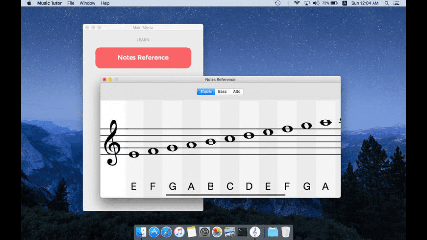 Music Tutor for Mac - review, screenshots