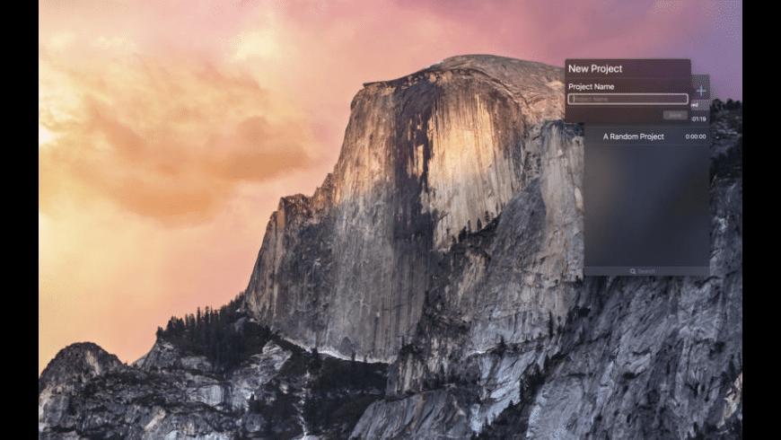 Time Clock for Mac - review, screenshots